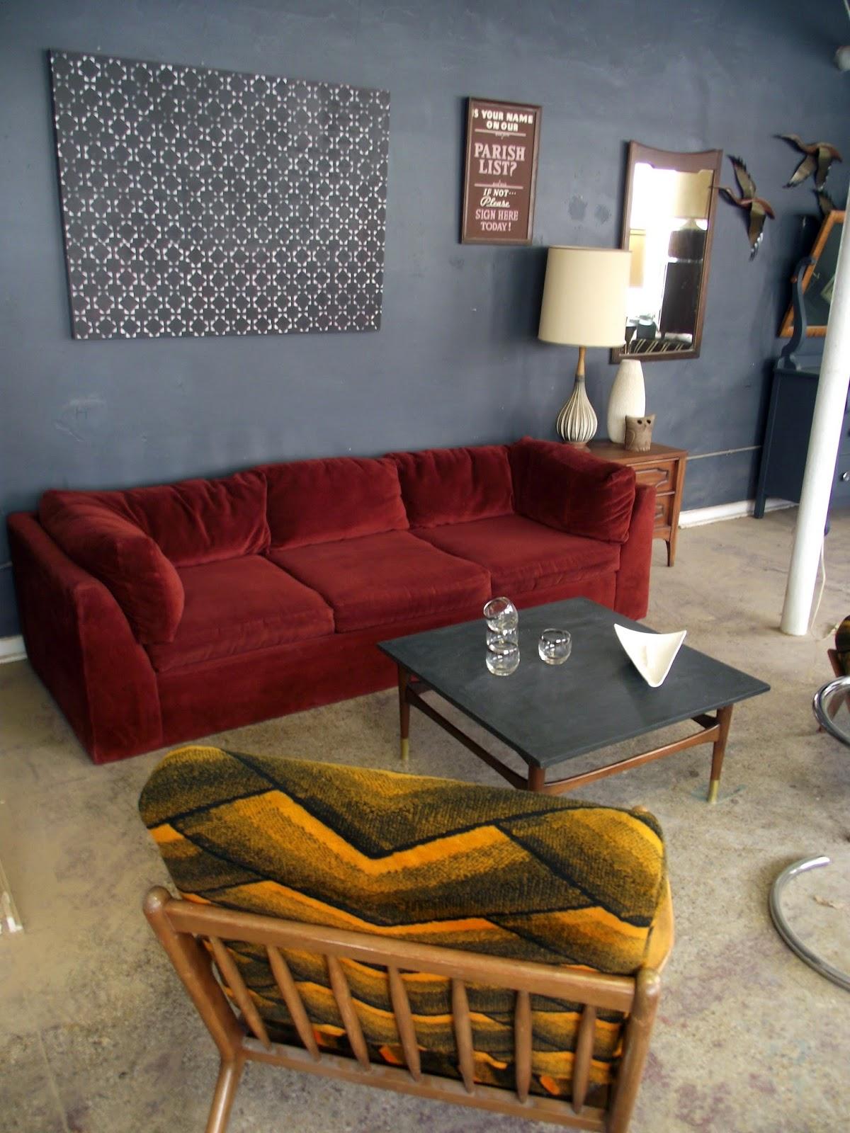Vintage Ground Vintage Milo Baughman Sofa