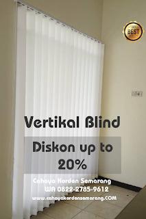 Vertikal Blind, diskon sampe dengan 20%