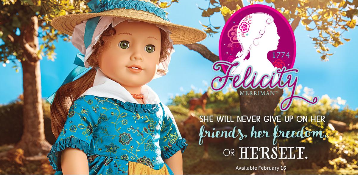 New American Girl Felicity Merriman Mini Doll  2017