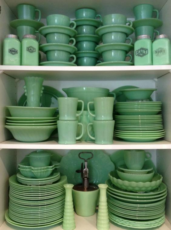 Vaisselle en jadéite