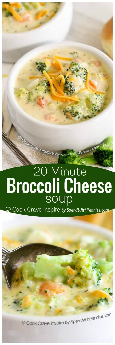 20 MINUTE BROCCOLI CHEESE SOUP #MINUTE #BROCCOLI #CHEESE #SOUP #DESSERTS #HEALTHYFOOD #EASY_RECIPES #DINNER #LAUCH #DELICIOUS #EASY #HOLIDAYS #RECIPE #SPECIAL_DIET #WORLD_CUISINE #CAKE #GRILL #APPETIZERS #HEALTHY_RECIPES #DRINKS #COOKING_METHOD #ITALIAN_RECIPES #MEAT #VEGAN_RECIPES #COOKIES #PASTA #FRUIT #SALAD #SOUP_APPETIZERS #NON_ALCOHOLIC_DRINKS #MEAL_PLANNING #VEGETABLES #SOUP #PASTRY #CHOCOLATE #DAIRY #ALCOHOLIC_DRINKS #BULGUR_SALAD #BAKING #SNACKS #BEEF_RECIPES #MEAT_APPETIZERS #MEXICAN_RECIPES #BREAD #ASIAN_RECIPES #SEAFOOD_APPETIZERS #MUFFINS #BREAKFAST_AND_BRUNCH #CONDIMENTS #CUPCAKES #CHEESE #CHICKEN_RECIPES #PIE #COFFEE #NO_BAKE_DESSERTS #HEALTHY_SNACKS #SEAFOOD #GRAIN #LUNCHES_DINNERS #MEXICAN #QUICK_BREAD #LIQUOR