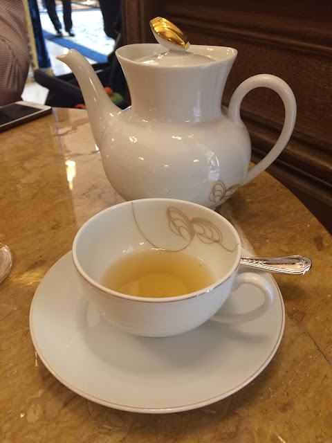 Tea at the Salon Proust, Ritz Paris