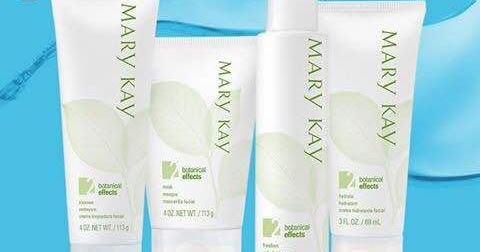 ~ #ProductReview Mary Kay Botanical Effect Set ~