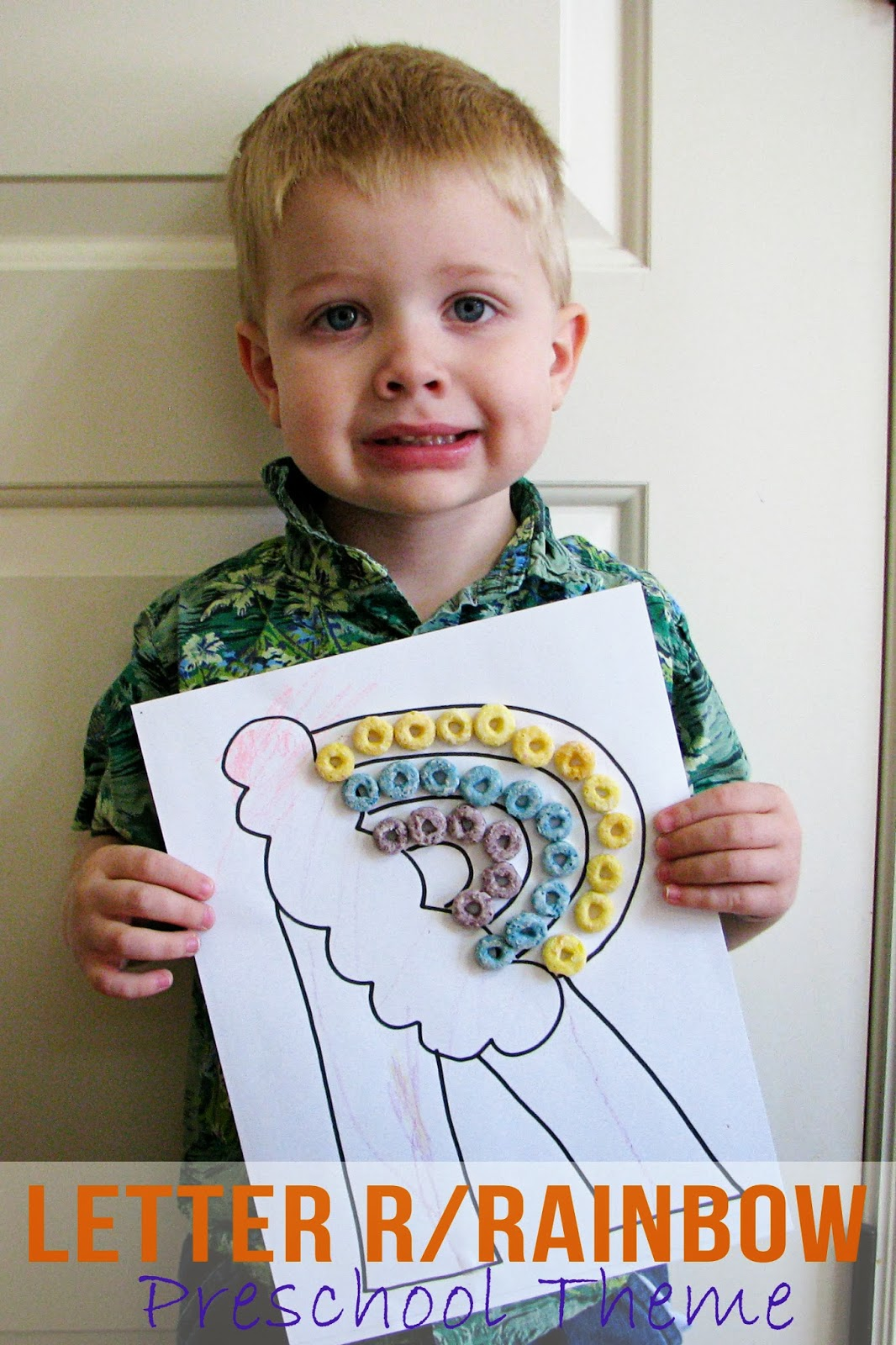 Mommy S Little Helper Letter R Rainbow Preschool Theme