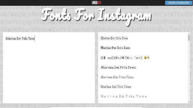 M3T - Aprenda a mudar a fonte da bio no Instagram