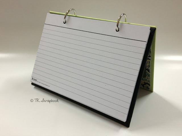 caderno fichario scrapbook