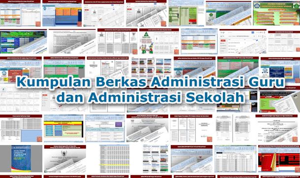 Kumpulan Berkas Administrasi Guru dan Administrasi Sekolah