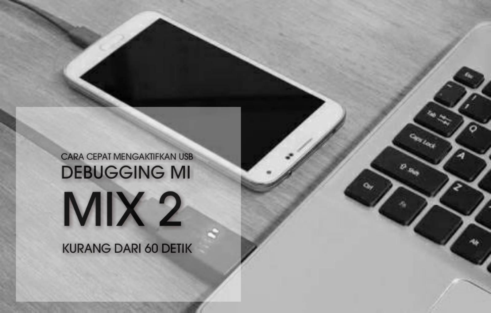 Cara cepat mengaktifkan USB debugging Mi MIX 2 kurang dari 60 detik