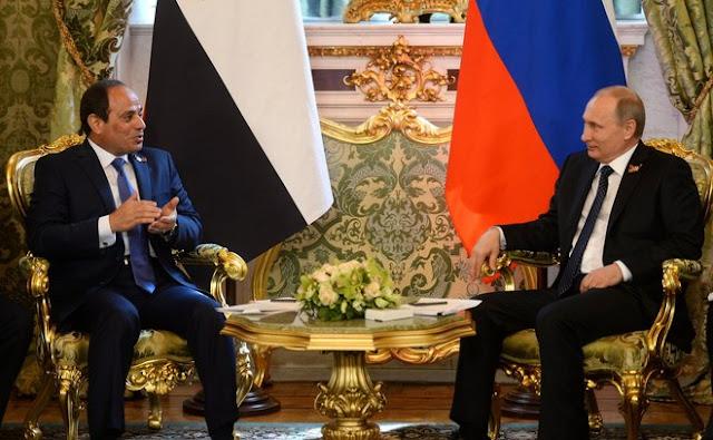 Путин обсудил с президентом Египта возобновление полётов в эту страну