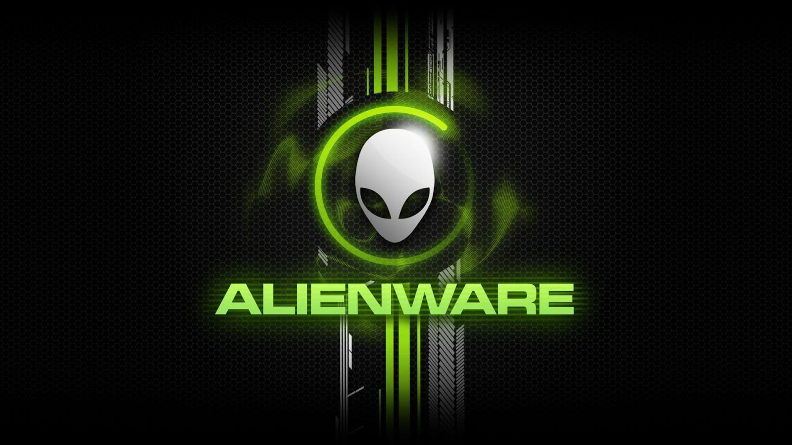 Gren Alienware Logo and Text