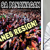 MAKIISA SA PANAWAGAN: Yellow Puppet Trillanes Resign!