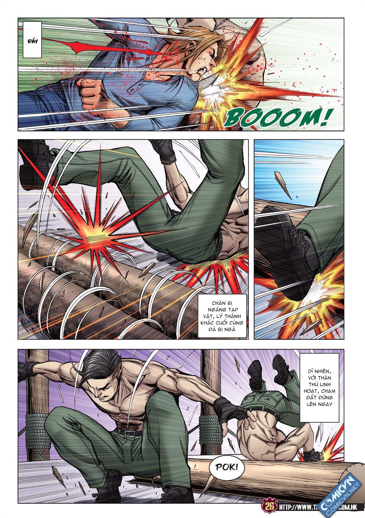 Người Trong Giang Hồ chapter 2137: tiền lộ nan hành trang 23