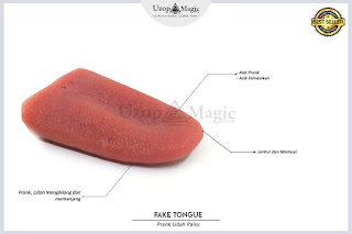 Jual alat sulap FAKE TONGUE