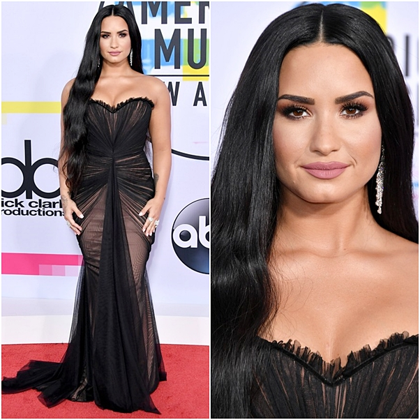 Looks American Music Awards 2017 demi lovato