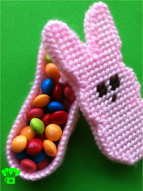 Plastic Canvas Easter Peeps Bunny Box Pattern by Kandy Kreations