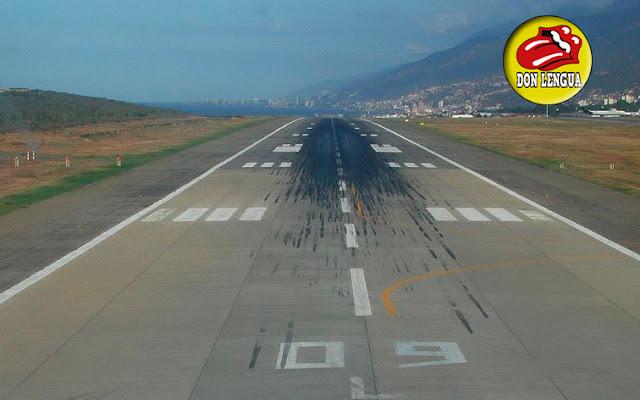 Hayan cadáver de hombre que quería huir del país en medio de la pista del Aeropuerto de Maiquetía