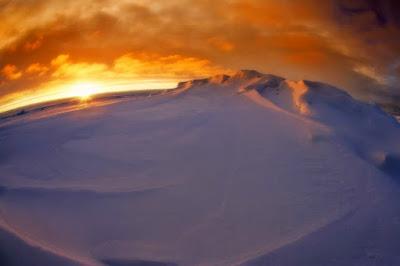 Antarticta Tempat Terdingin di Bumi
