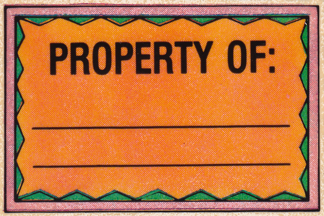 Frankie's Apartment: Property Stickers