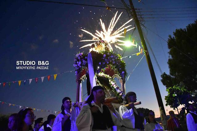 Η εορτή της Αγίας Κυριακής στο Κουτσοπόδι Αργολίδος