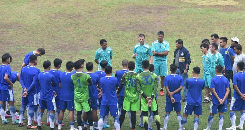 Persib Bandung Gelar Pertandingan Uji Coba