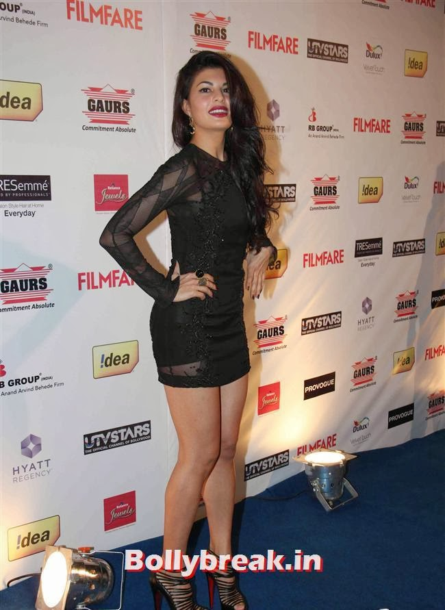 Jacqueline Fernandez, Bollywood A-List Actresses at 59th Filmfare Pre Awards Party
