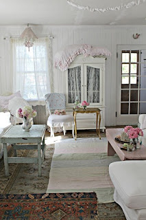 sala estar shabby chic