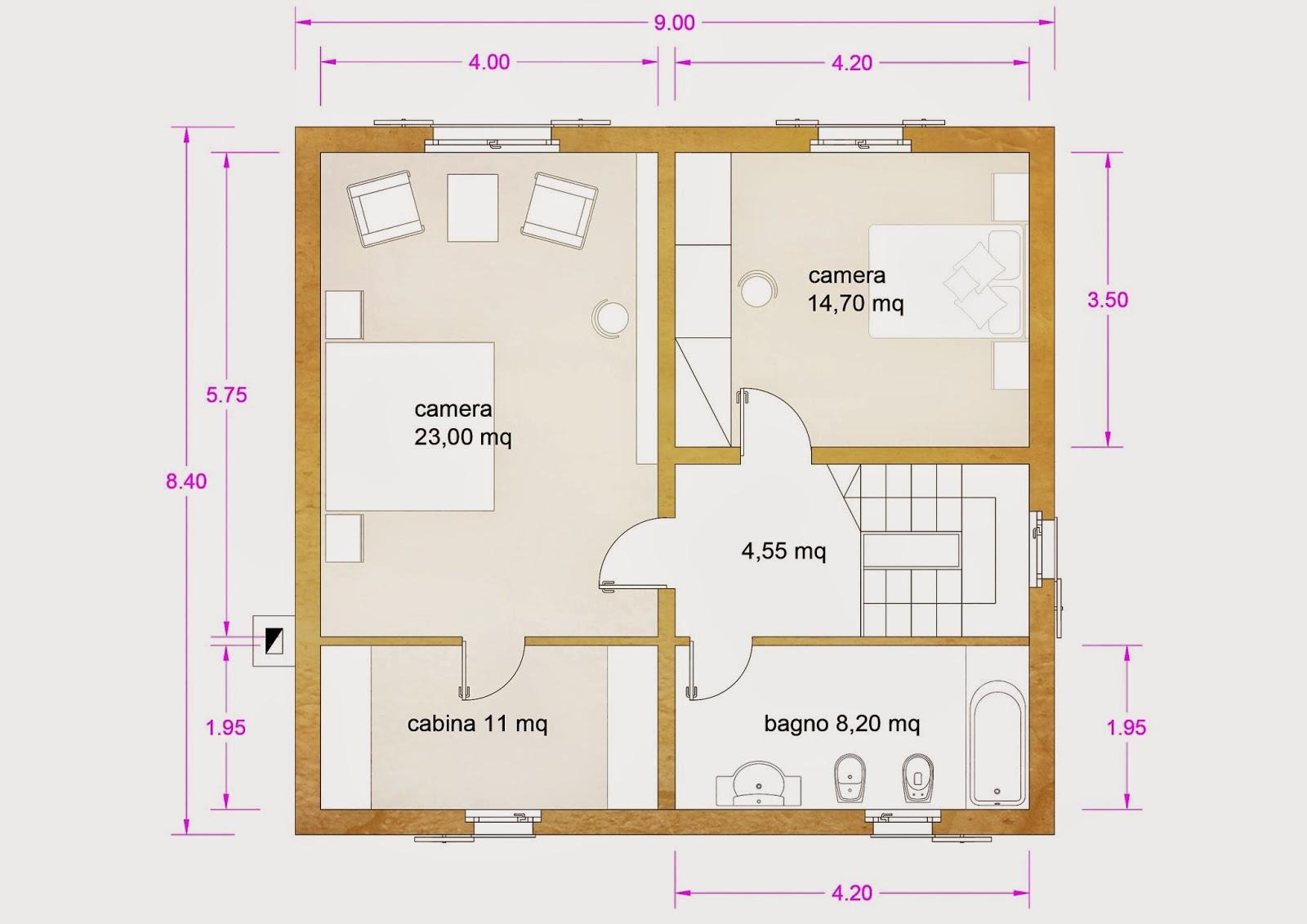 Progetti di case in legno for Case in legno senza fondamenta
