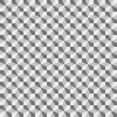 ホログラムシールのイラスト(白黒)