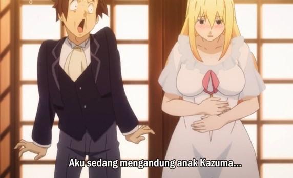 Kazuma memang Hoki, main game ditemenin Dewi kwkw