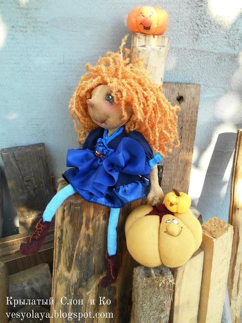 кукла ручной работы, handmade doll,