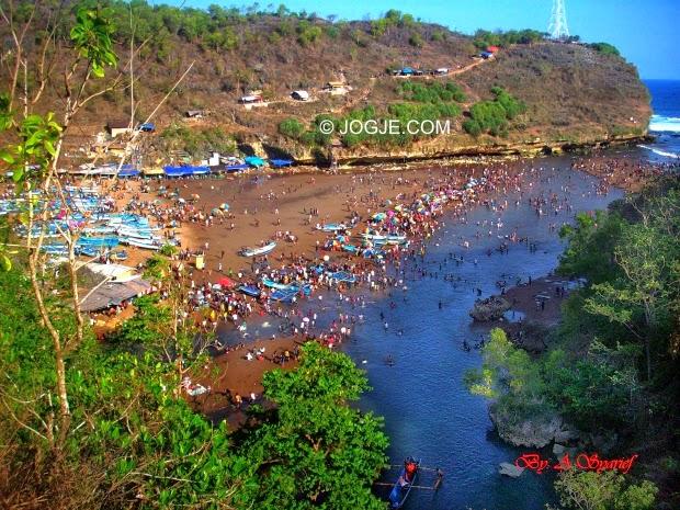 Pantai Baron Wisata Pantai Gunung Kidul Yogyakarta Trip Jogja