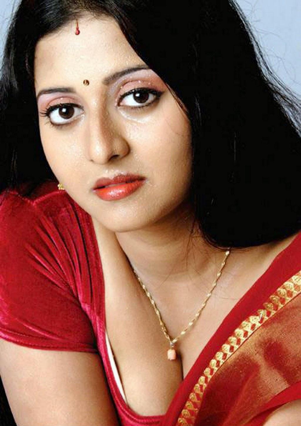 Actress Bhanupriya Aunty Boobs Photos Without Jacket Boobs -6333