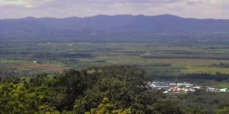 Puncak Gunung Medan  puncak gunung medan dharmasraya