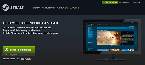 Como descargar e instalar STEAM gratis