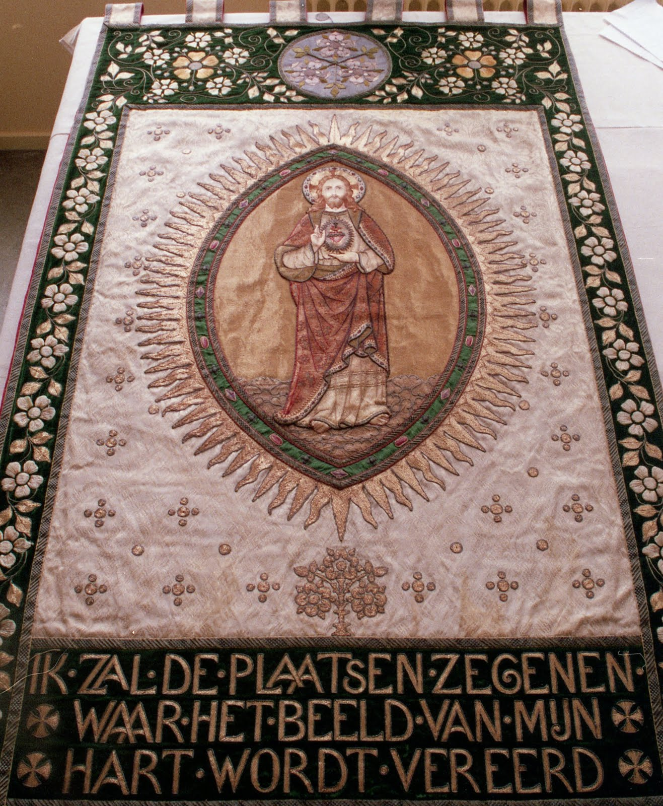 The Genuine Art of the Processional Banner ~ Liturgical Arts