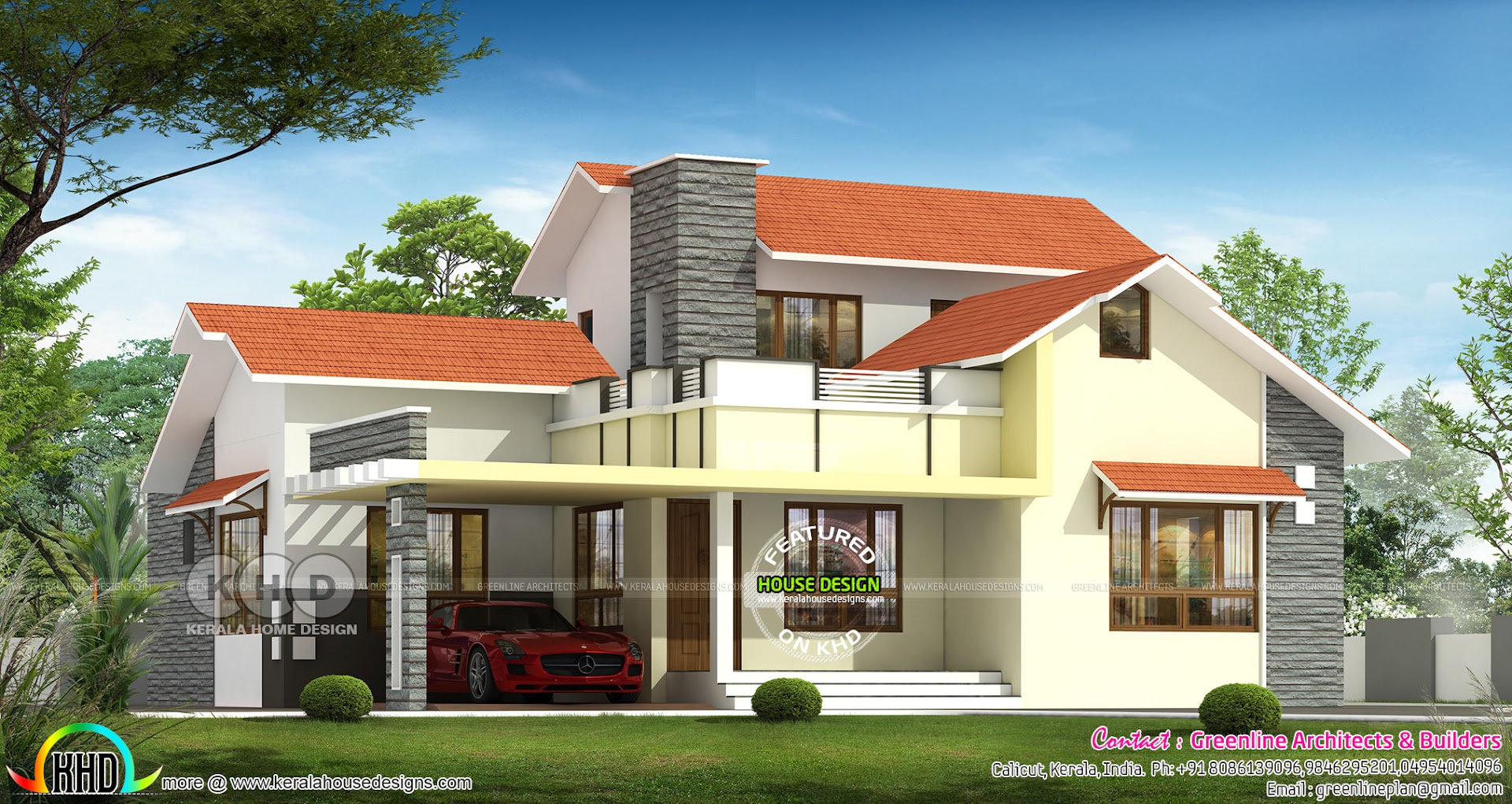 1670 sq-ft ₹25 Lakhs Budget friendly House - Kerala home ...