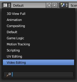 scene editor