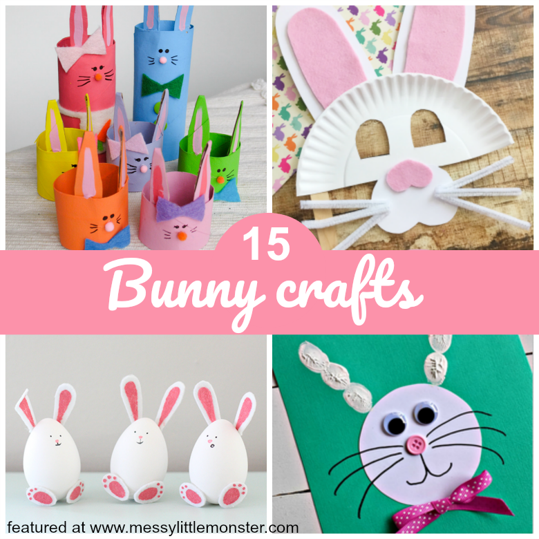 Adorable Easter Bunny Crafts Messy Little Monster