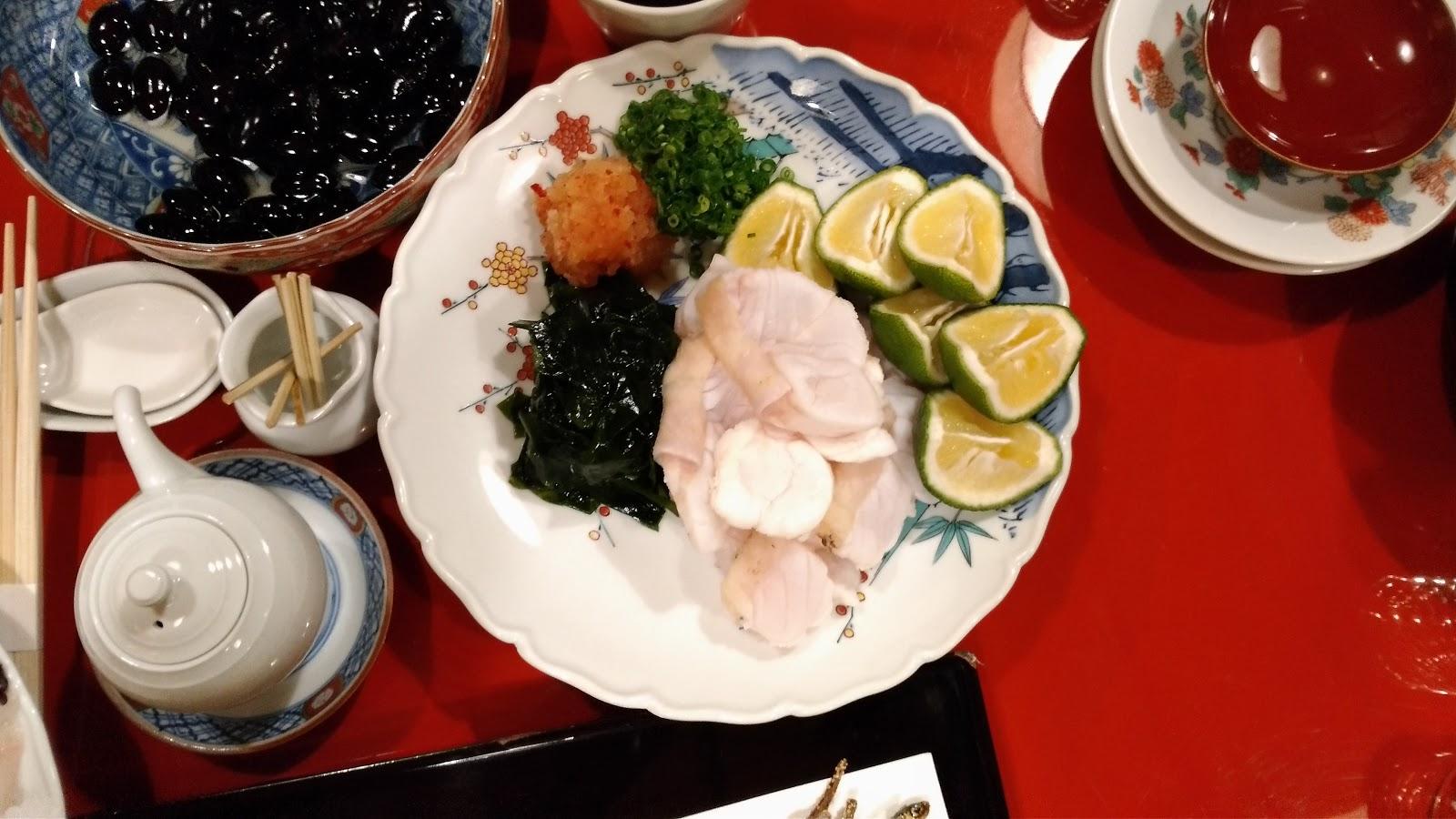 料亭晴海 お料理