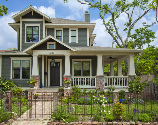 Simply stina arts and crafts movement refreshed - Arts and crafts style homes ...