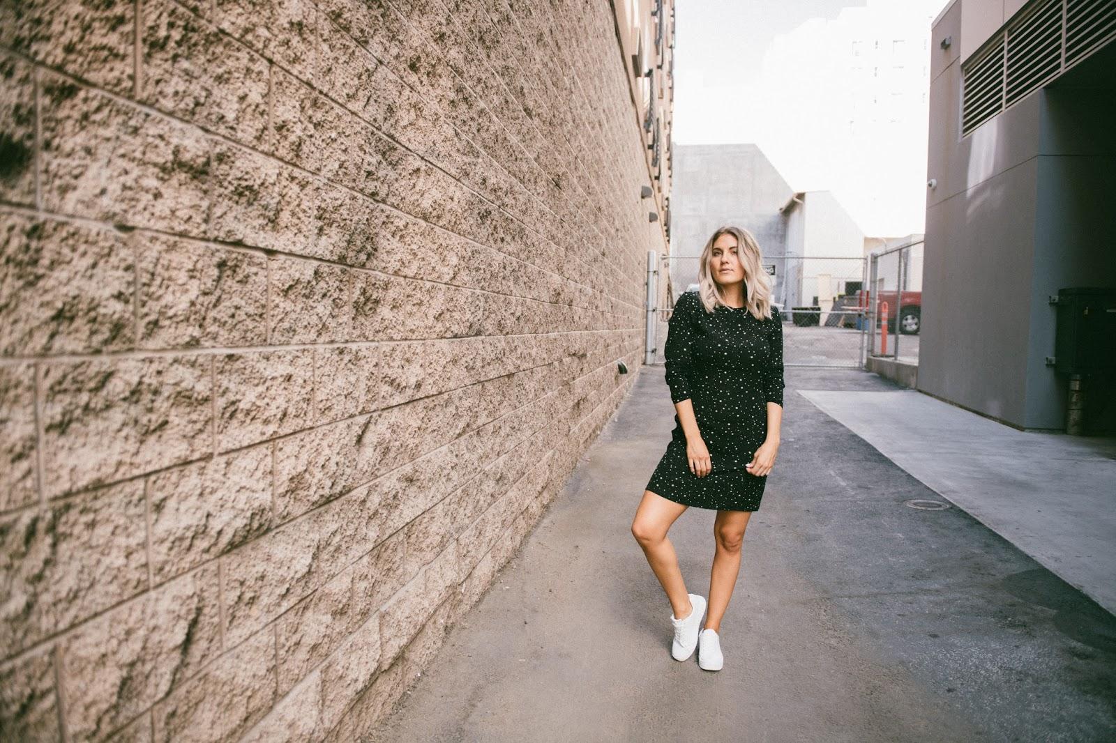 Casual Star Print Dress - @taylorwinkelmeyer