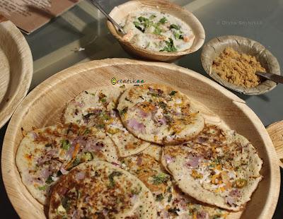 Green cafe - organic restaurant - millets adai