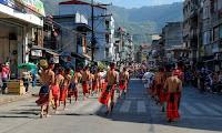 13th Lang-Ay Festival Behind the Scenes Cultural Parade Dancing Forward