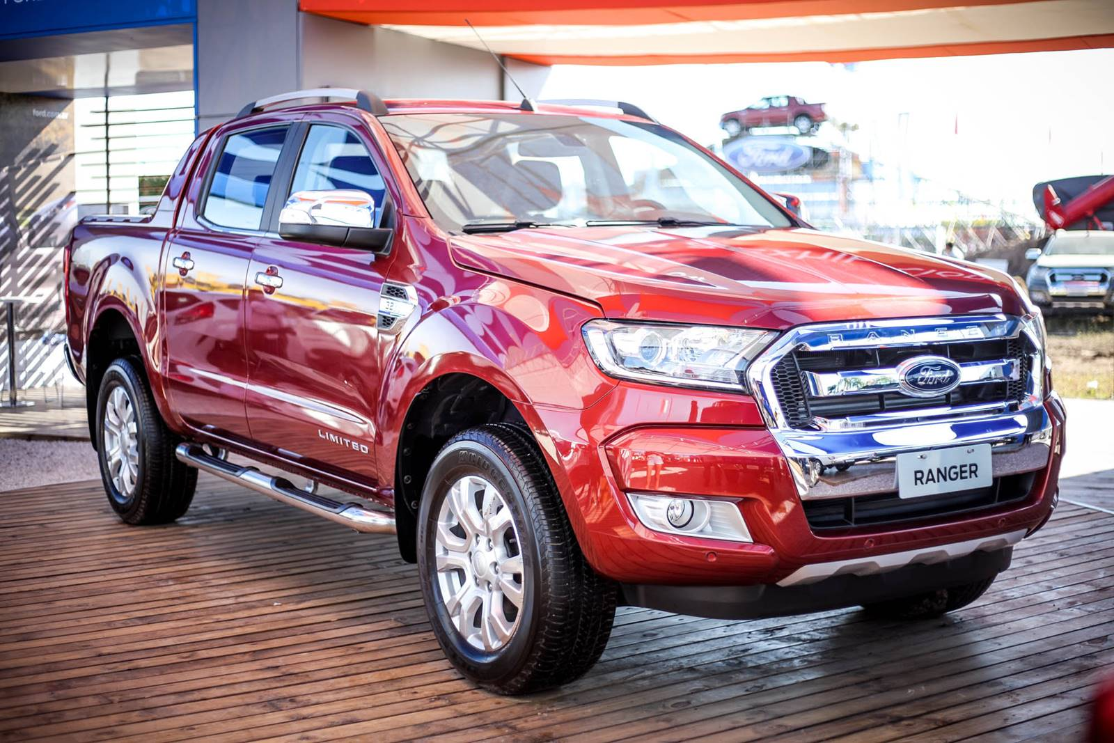 nova ford ranger 2017 diesel fotos e tabela de pre os car blog br. Black Bedroom Furniture Sets. Home Design Ideas
