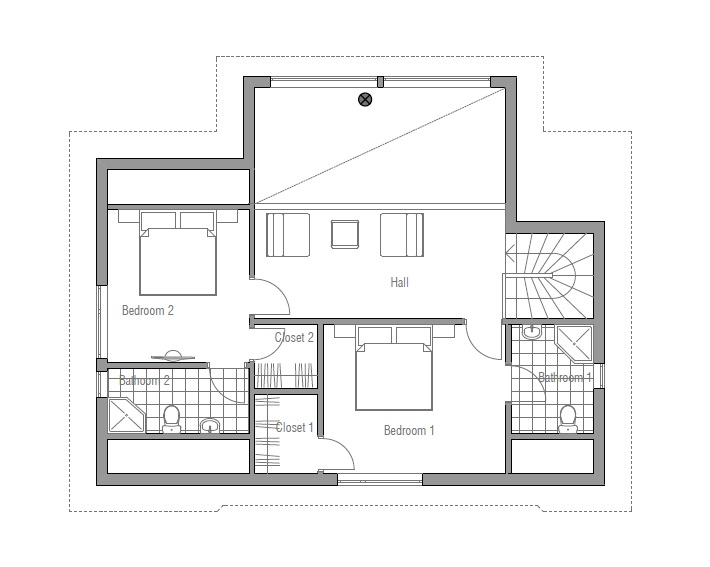 Affordable Home Plans: Affordable Home Plan CH102