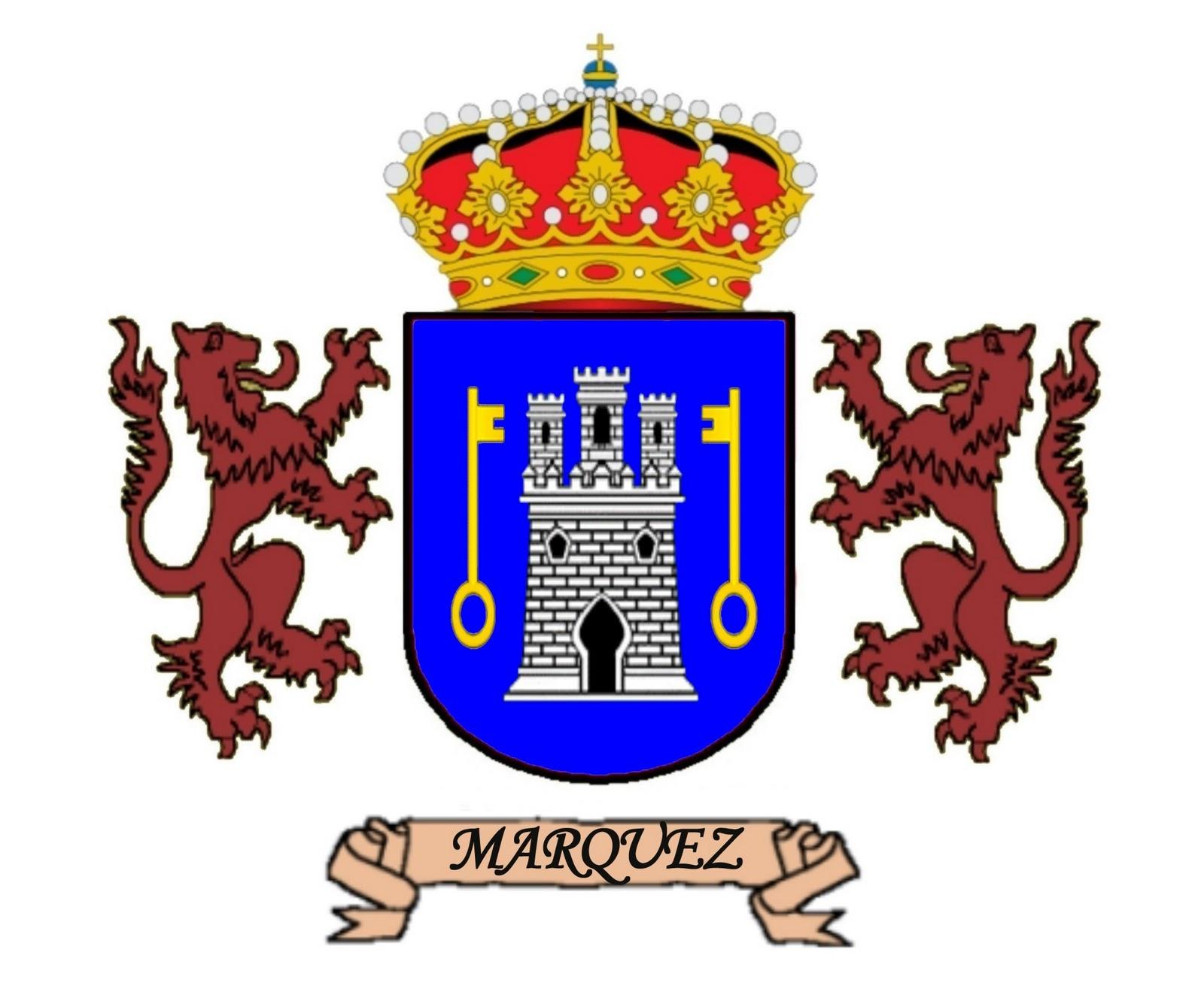 Apellidos y Escudos: Márquez