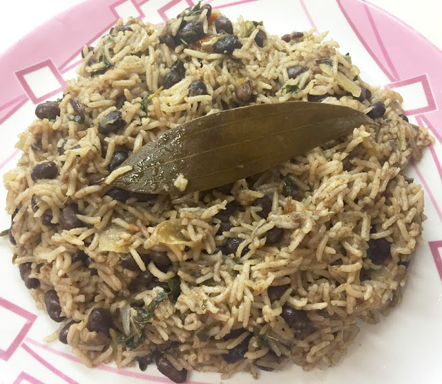 Black Beans Pulao Recipe
