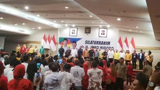 Keluarga Besar Uno Dukung Jokowi, Sorak Berkumandang