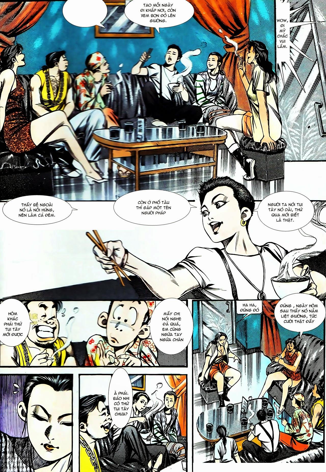 Người Trong Giang Hồ chapter 130: cô ta đến từ giang hồ trang 8