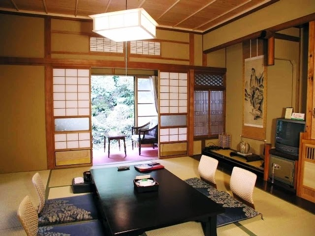 japanese dining room wall painting ideas